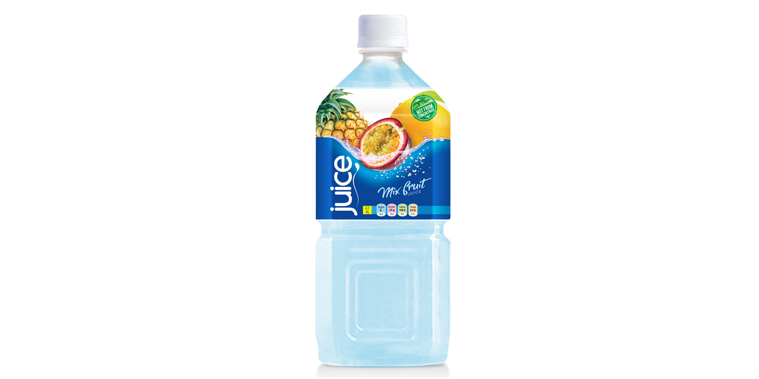 Mix fruit juice drink 1000ml  pet bottle