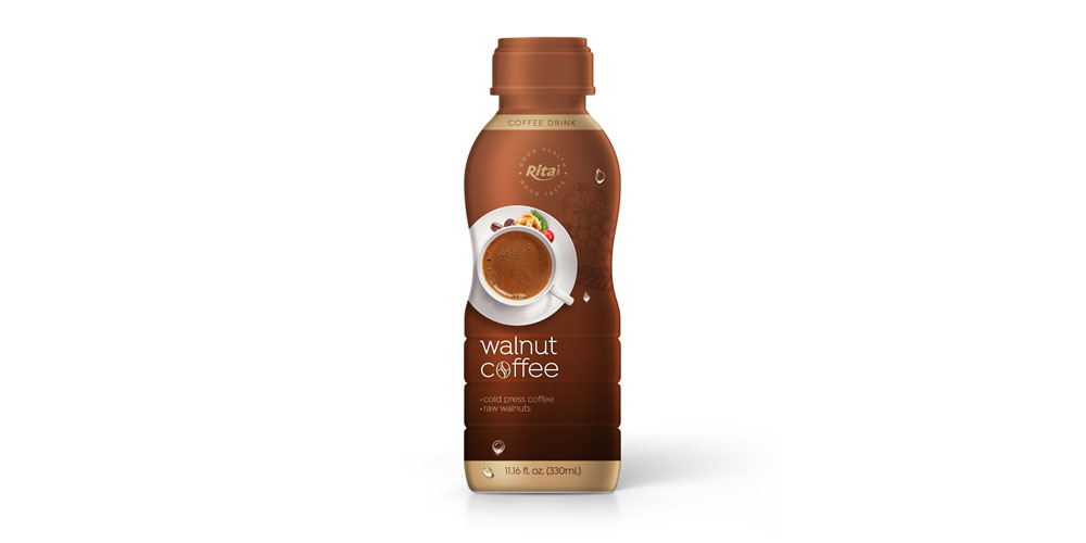 Walnut Coffee in 330ml PP Bottle