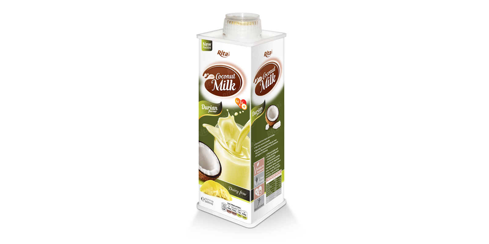 Coconut milk durian 600ml