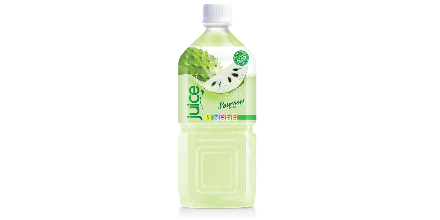 Soursop juice drink 1000ml pet bottle from RITA US