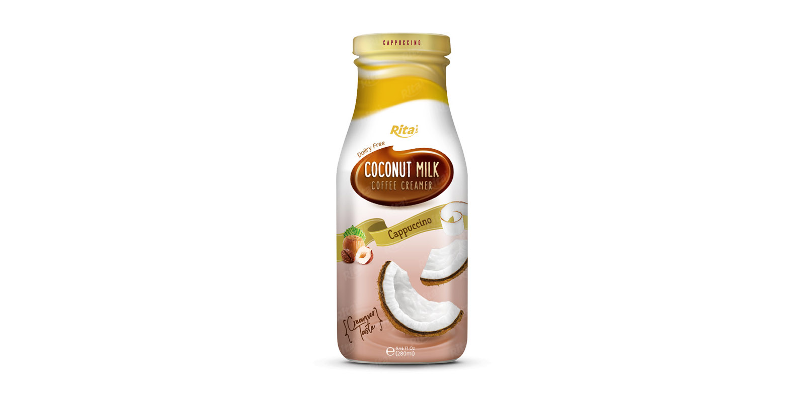 Coconut milk with Coffee Cream cappuccino 280ml