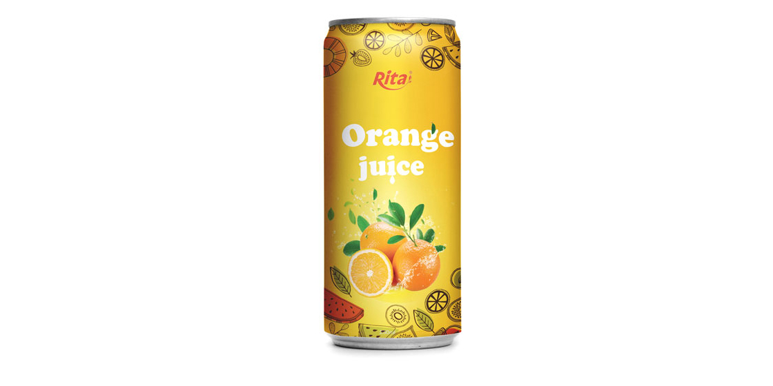 250ml Orange juice drink