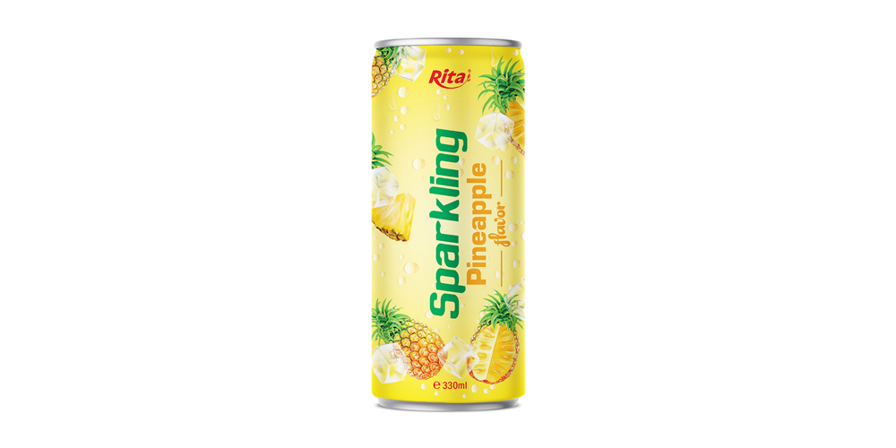 Price OEM Sparkling  pineapple from RITA US