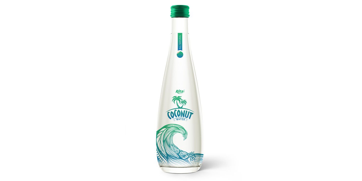 coconut water wholesale price glass bottle 300ml