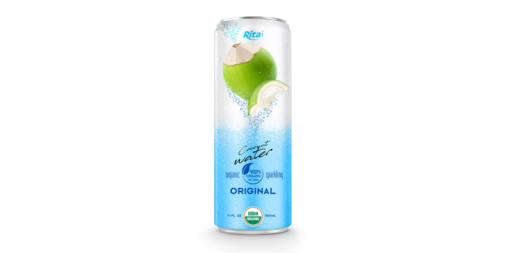 Coco Organic Sparkling 320ml in can