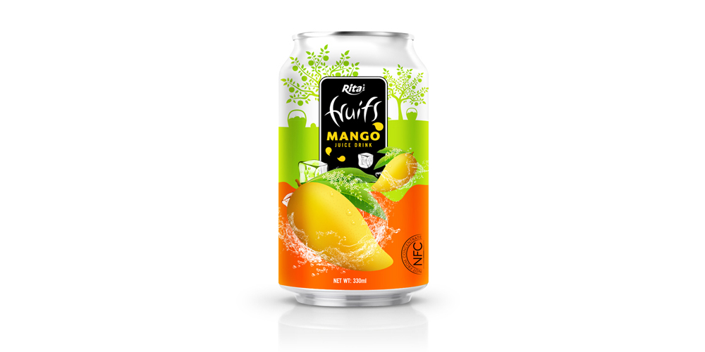 Real Fruit mango juice 330ml