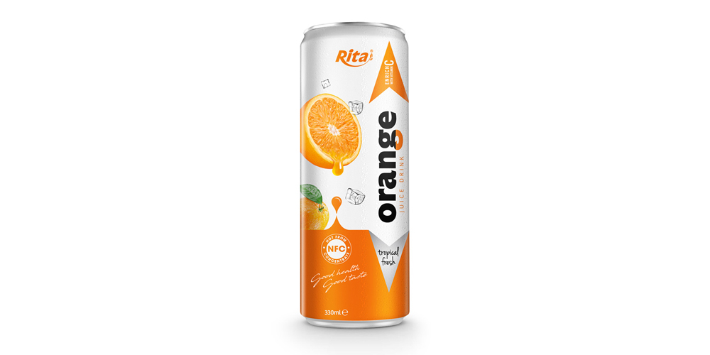 beverage manufacturing Fruit orange 330ml