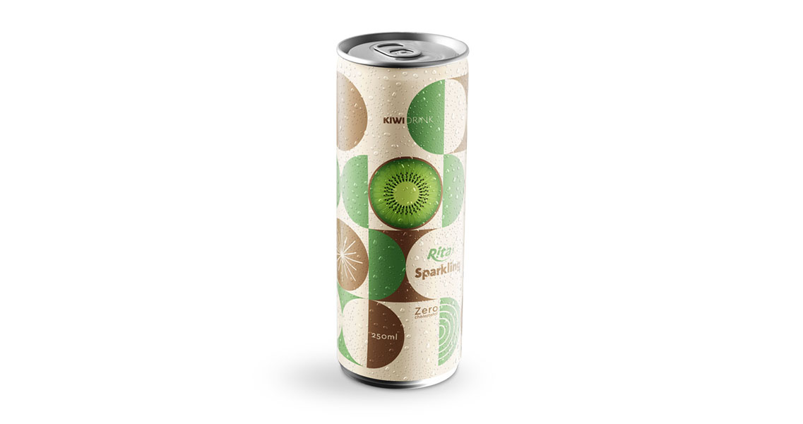 kiwi sparkling drink 250ml