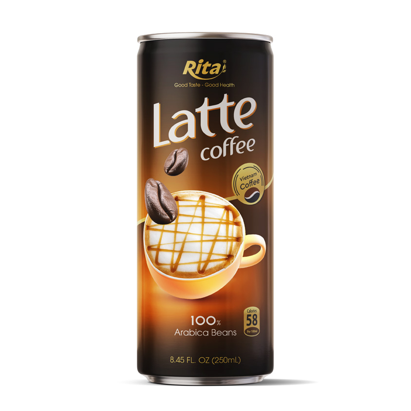 Premium 250ml Latte Coffee drink