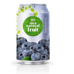 Blueberry juice drink 330ml from RITA US