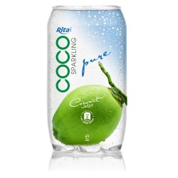 350ml Pet bottle  natural coconut water from RITA beverage