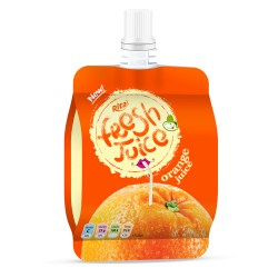 Bag orange juice 100ml of RITA US