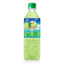 Coconut water with lime flavor  500ml Pet bottle  from RITA US