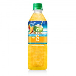 Coconut water with mango flavor  500ml Pet bottle from RITA US