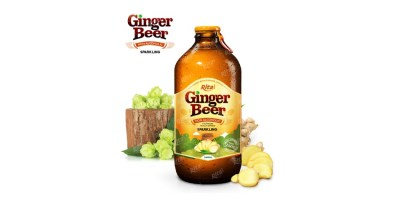 Ginger Beer 340ml glass bottle from RITA US