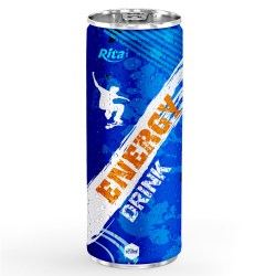 Energy drink 250ml aluminum canned  7 from RITA US