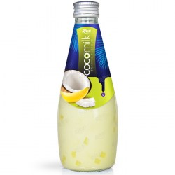 Coconut milk with  banana flavor 290ml glass bottle  from RITA US