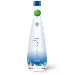 Coconut water with blueberry in glass bottle 300ml from RITA US