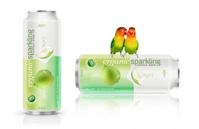 Organic Sparkling Coconut water 500ml from RITA US