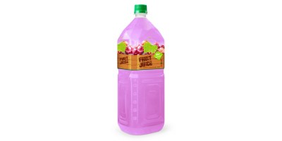 tropical fruit drinks grape 2L pet from RITA us