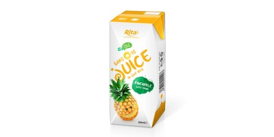 packaging solutions fruit pineapple juice in tetra pak from RITA US