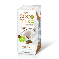 High quality Coco Milk Tetra pak 200ml from RITA US