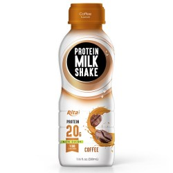 Juice bottles   Protein milk shake with cofee from RITA US