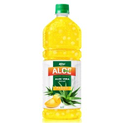 Aloe vera 1L with mango flavored drinks from RITA US