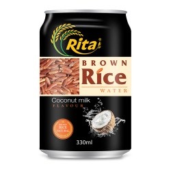 brown rice water with coconut milk from RITA US