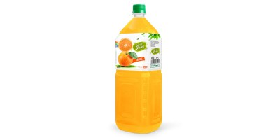 Fruit orange 2L pet water bottles from RITA us