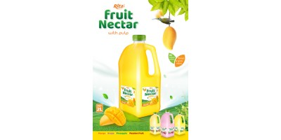 Rita Fruit Nectar 2L with mango flavor from RITA US