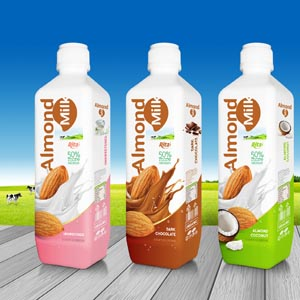 Almond milk more kind 1000ml PP bottle