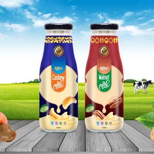 milk drink from fruit juice brands