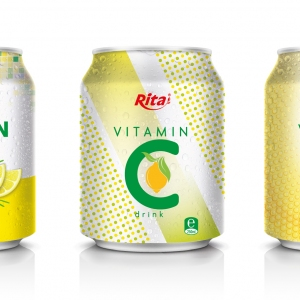 Vitamin C drink 250ml in can
