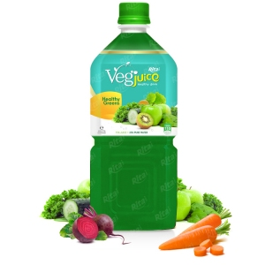 Rita vegetable apple kiwi 1000ml pet bottle