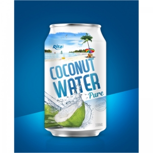 drink brand RITA coconut pure water
