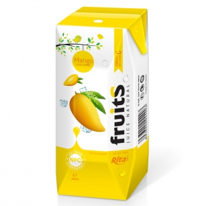 Fresh mango juice Aseptic 200ml