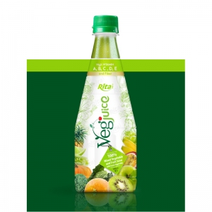 juice shop design Vegjuice in Pet 290ml