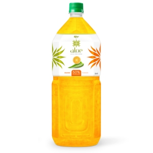 Aloe vera with Orange  juice 2000ml Pet Bottle