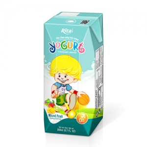 Yogurt kids 200ml mixfruit juice