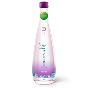 coconut water with mangosteen  glass bottle 300ml