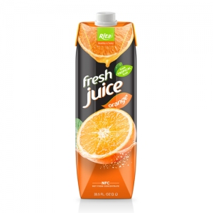 Box 1L fresh fruit orange