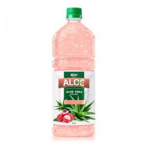 aloe vera with lychee flavour 1L
