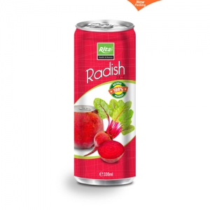 330ml Slim can Radish Juice