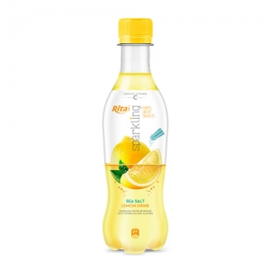 Sparkling fruit lemon 400ml Pet bottle